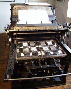 flattrykk presse