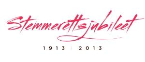 logo stemmerettsjubileet