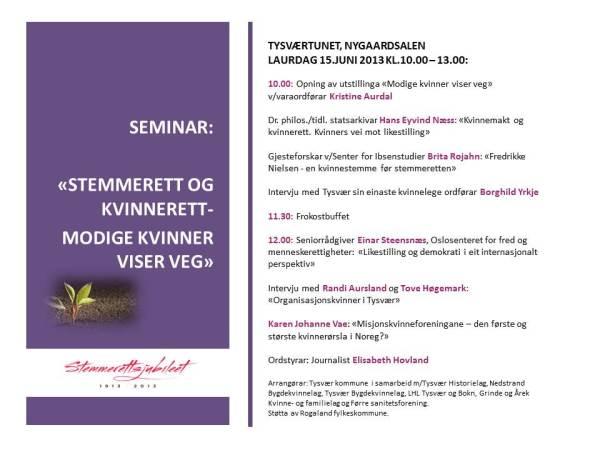 Seminar-flyer