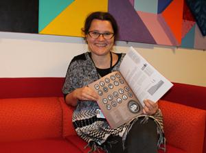 Elisabeth Hovland er koordinator for Demokratijubileene i Stavanger kommune. Foto: Lene Klovning Jørpeland, Kommunikasjonsavdelingen, Stavanger kommune