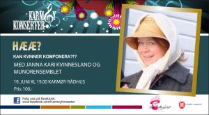 Karmøy Stemmerettsuka konsert