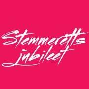 Stemmerettsjubileet logo rosa