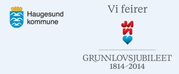 Haugesunds logo i grunnlovsjubileet