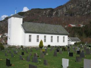 Hjelmeland kirke. Foto: kirkesøk.no