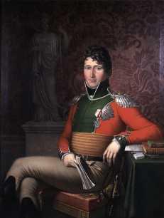 Christian Frederik var valgt konge av Norge fra 17. mai til 10. oktober 1814 og konge av Danmark fra 3. desember 1839 til sin død. Maleri av J.L. Lund 1813