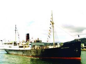 DS «Rogaland» et av de gamle fartøyene som deltar i konvoien. Det ble bygget ved Stavanger Støberi og Dok AS som byggenr. 90. I 1929 ble fartøyet levert til Stavangerske Dampskibsselskap AS