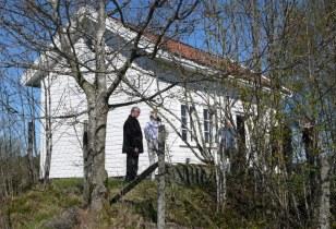 Kvekernes forsamlingshus fra 1800-tallet på Stakland i Tysvær. Foto: Hans Eirik Aarek
