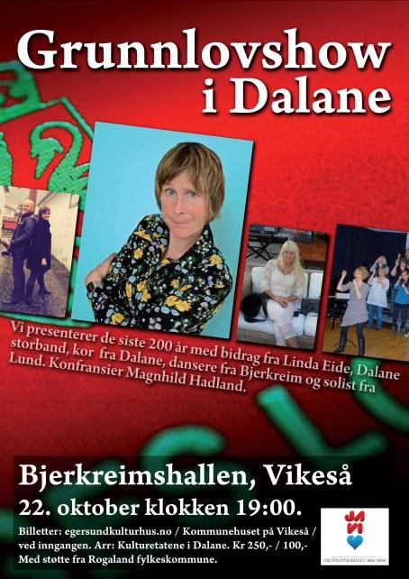 Grunnlovsshow i Dalane