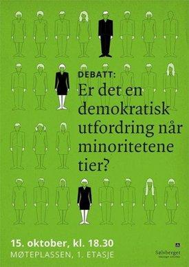Plakat demokratisk utfordring